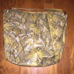Antonio Melani cute snake skin design shoulder bag